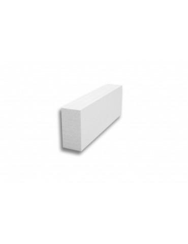 Перегородочный блок из газобетона D500 625х125х250