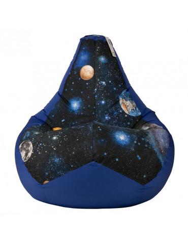 Кресло-мешок Космос Блю L