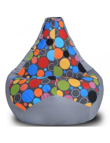 Кресло-груша Боро Грей L