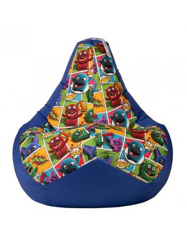 Кресло-мешок Монстры Блю L