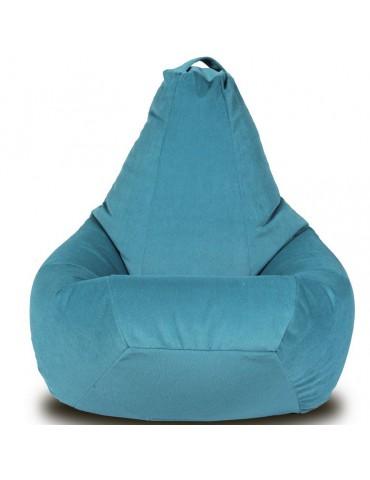 Кресло-груша Велюр Бирюза L