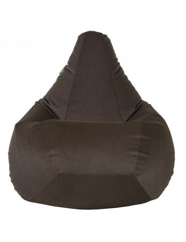 Кресло-груша Велюр Кофе L