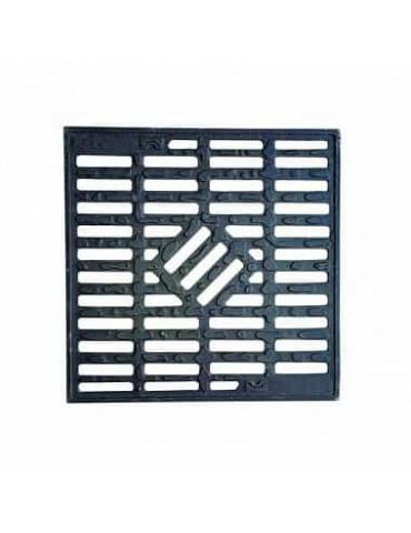 Aquastok Водоприемная решетка чугунная для дождеприемника 300x300 капля