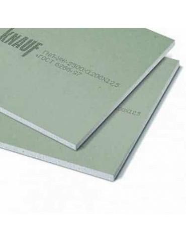 Лист гипсокартонный Knauf влагостойкий 2500x1200x12,5 мм