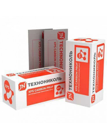 XPS Технониколь Carbon Prof 1180x580x40 мм L-кромка